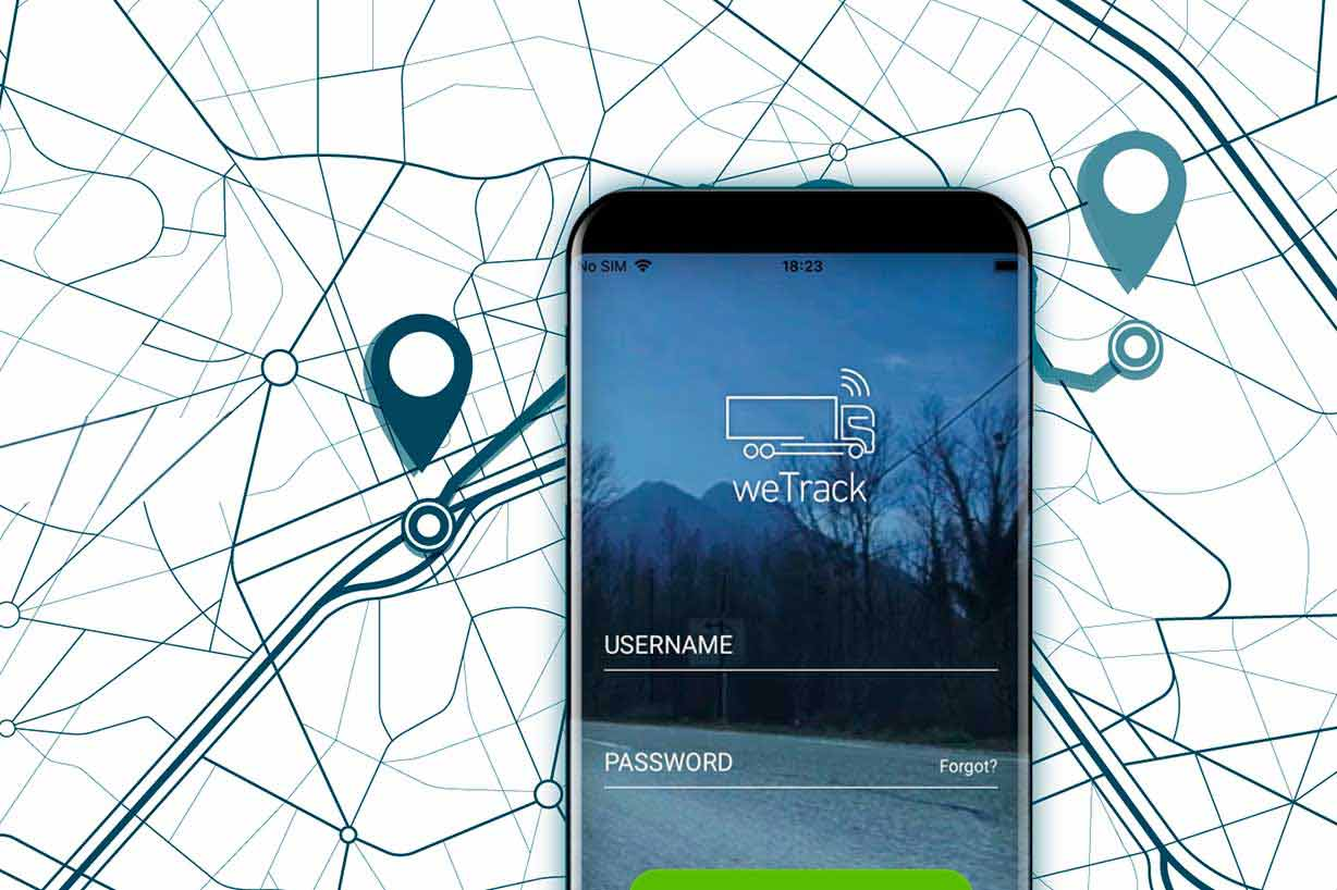Transwide weTrack: The mobile tracking app for carriers | Alpega